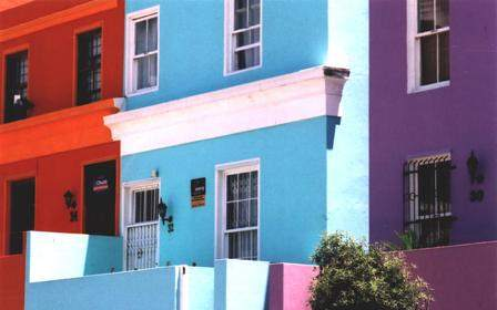 Bo Kaap Quarter in Cape Town
